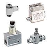 Flow control valves and blocking valves