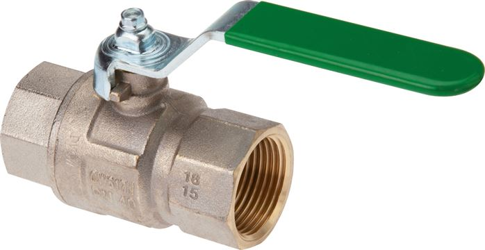 Ball valves for drinking water, DVGW & KTW tested, EN 13828, up to 50 bar