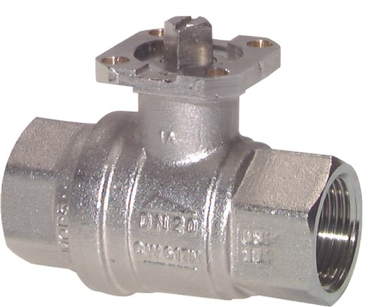 Ball valves with direct assembly flange (ISO 5211), DVGW tested, EN 331, up to 40 bar