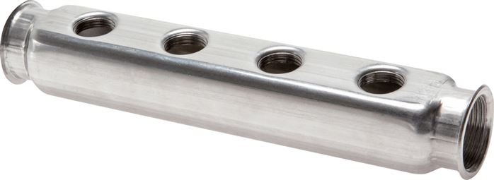 Distributor bars made of stainless steel, one-sided/double-sided, PN 10