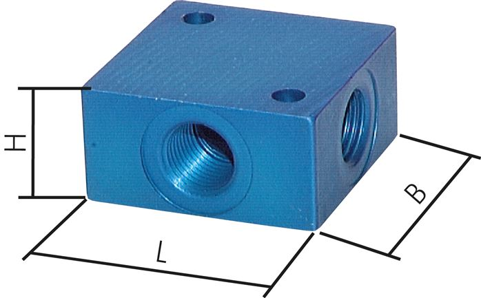 Distributor blocks 3-X / 4-X, PN 16