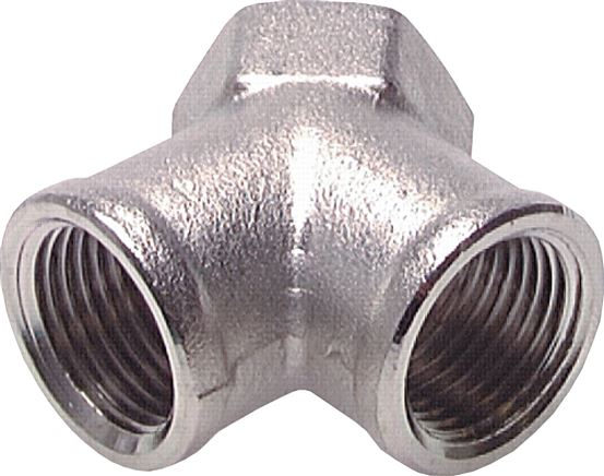 Air junctions 2-X with female thread, up to 25 bar